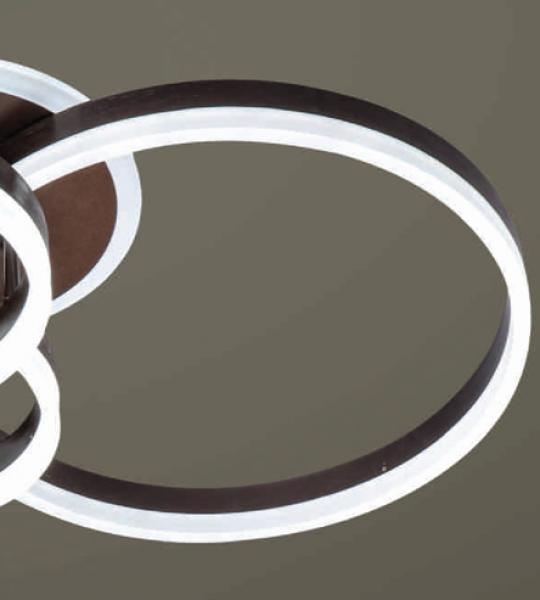 ĐÈN MÂM LED ACRYLIC MT 6840/2+2+4 VERONA ( Màu Cafe)