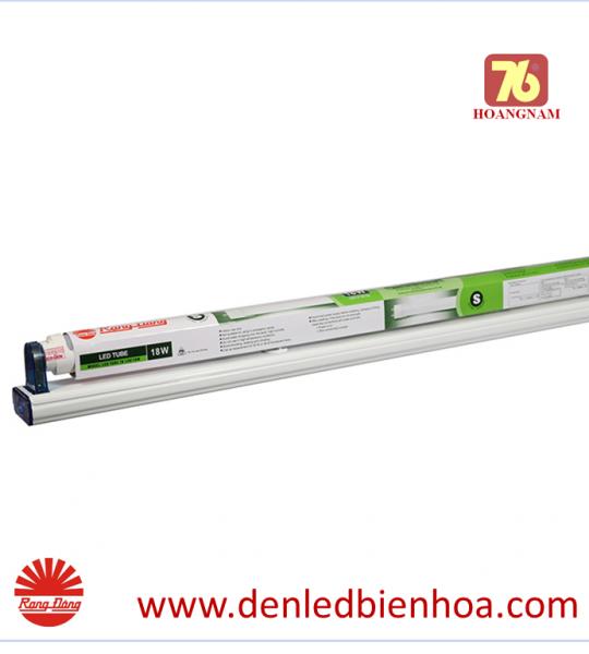 Bộ đèn LED Tuýp T8 1.2m 18W Nhôm Nhựa Rạng Đông