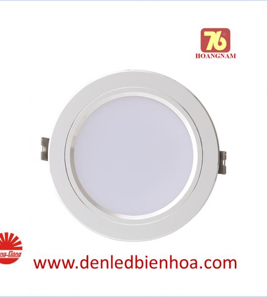 Đèn LED Âm trần Downlight 7W Viền Bạc Rạng Đông