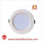 Đèn LED Âm trần Downlight 7W Viền Vàng Rạng Đông
