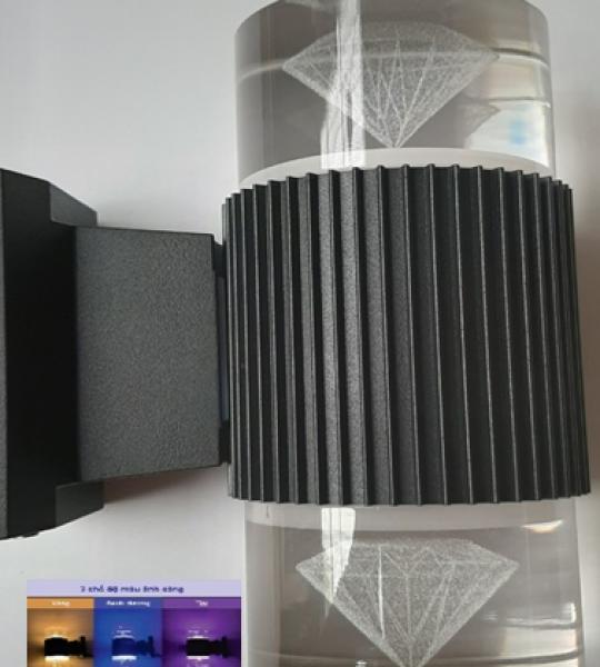 ĐÈN TƯỜNG HÀNH LANG HATICO 3 chế độ ánh sáng