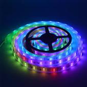 CUỘN LED DÁN 5050 5M 12V RGB  (KEO)