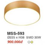 ĐÈN LED ỐP TRẦN TRÀN VIỀN 30W EUROTO