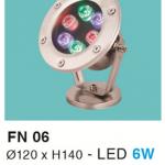 ĐÈN LED DƯỚI NƯỚC 6W RGB HF