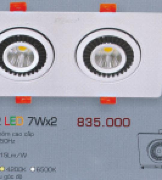 AFC 756/2 LED 7W X 2 ANFACO