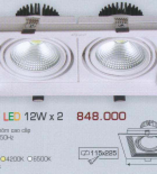 AFC 758/2 LED 12W X 2 ANFACO