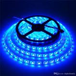 CUỘN LED DÁN 5050 5M 12V XANH DƯƠNG (KEO)