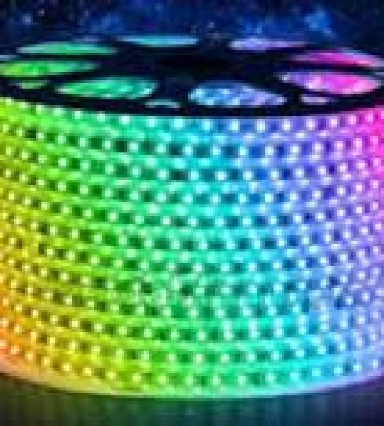 DÂY LED 5050 220V- ÁNH SÁNG 7 MÀU ( Chuyển 7 màu)